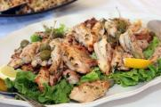 Oregano & lemon chicken